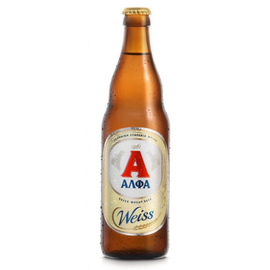 ΑΛΦΑ weiss μπουκάλι